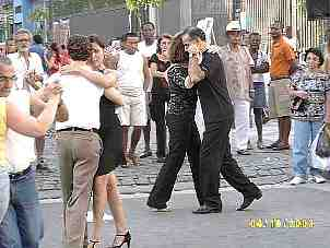 Tango in the street and flea market - come visit!!!